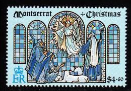 Montserrat MNH Scott #820 $4.60 Angel Appearing Before Shepherds - Christmas - Montserrat