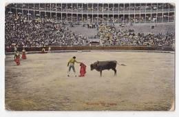 España Tarjeta Postal Corrida Toros  - Postcard AK Cpa (W3_606) - Corridas