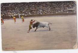 España Tarjeta Postal Corrida Toros  - Postcard AK Cpa (W3_608) - Corridas