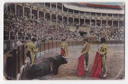 España Tarjeta Postal Corrida Toros  - Postcard AK Cpa (W3_610) - Corridas