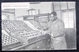 Lessouto  Imprimerie De Morija - Lesotho