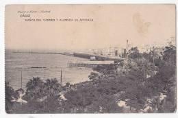 España Tarjeta Postal Cadiz Baños Del Carmen Y Alameda De Apocada - Postcard AK Cpa (W3_636) - Cádiz