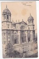 España Tarjeta Postal Cadiz  Catedral - Postcard AK Cpa (W3_643) - Cádiz