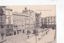 España Tarjeta Postal Cadiz  Paseo De Labra - Postcard AK Cpa (W3_644) - Cádiz