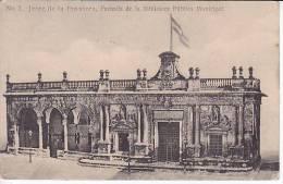 España Tarjeta Postal Jerez  Biblioteca Publica Municipal Postcard AK Cpa (W3_654) - Cádiz