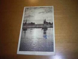 CPA14 Calvados OUISTREHAM 1932 Riva Bella Yvert N° 199 Avec Bande Publicitaire Chocolat PUPIER - Ouistreham