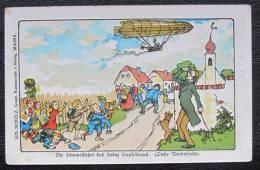 Zeppelin Humoristique Jos. Scholz Mainz - War 1914-18