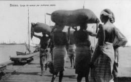 BISSAU.CARGA DE CAROÇO POR MULHERES PAPÔS - Guinea-Bissau