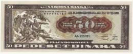 50 Dinars 1950 Fantasy Issue UNC !!! - Yougoslavie