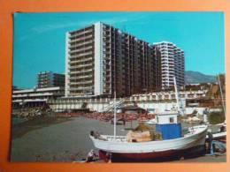 E1A-Espagne-benalmadena Costa-costa Del Sol--animee_bateau Plage - Espagne