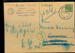 19.11.1945 SELTENERE Ganzsache Stralsund/Kanin. ZURÜCK. MK - Sowjetische Zone (SBZ)