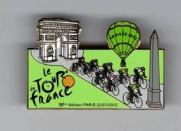 Pin´s Tour De France - Mongolfière - Cyclisme