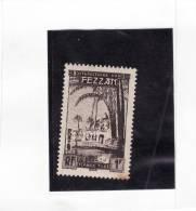 G369 FEZZAN NEUF N° 6 Timbre Taxe 1 F Tache De Rouille - Fezzan (1943-1951)