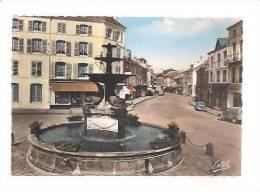 CPSM 88 REMIREMONT La Fontaine Monumentale 1967 - Remiremont