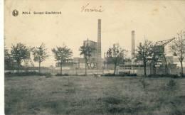 Mol Gompel - Glasfabriek -1923  ( Verso Zien ) - Mol