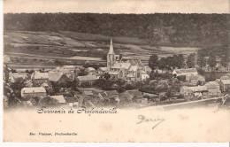 Souvenir De Profondeville- 1901- Vue Sur L´Eglise - Edit. Viatour , Profondeville- Précurseur - Profondeville