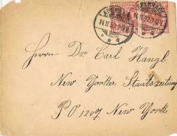 0679. Carta APENRADE (Alemania Rich) 1892 A Estados Unidos - Cartas