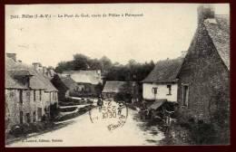Cpa Du 35   Plélan Le Pont Du Gué , Route De Plélan à  Paimpont    BHU6 - France