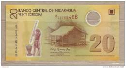 Nicaragua - Banconota Non Circolata Da 20 Cordobas - 2007 - Polymer - Nicaragua