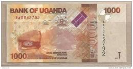 Uganda - Banconota Non Circolata Da 1000 Scellini - 2010 - Uganda