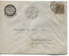 TP 75c S/Lettre Commerciale Chemisier Emile Koltz à&c.Luxembourg Ville Du 21/2/1931 V.BXL PR66 - Covers & Documents