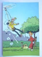 CARTE Postale SPIROU N°20 - SUPPLEMENT AU JOURNAL 1985 COUVERTURE DU RECUEIL 38 FRANQUIN - MARSUPILAMI - Ansichtskarten