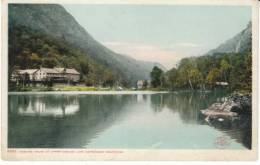 Cascade House NY New York, Cascade Lake Adiriondack Moutnains Resort, C1900 Vintage Detorit Photographic Postcard - Adirondack