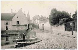 77-BRIE-COMTE-ROBERT-Rue Gambetta Et L´Abreuvoir- Précurseur,dos Non Divisé.CLC.comme Neuve - Brie Comte Robert