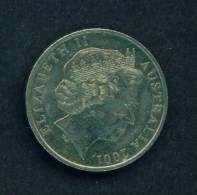 AUSTRALIA  -  2001  20 Cents  Circulated As Scan - Decimal Coinage (1966-...)