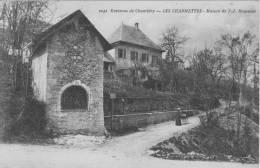 73 CHAMBERY, Les Charmettes, Maison De J.J.Rousseau - Chambery
