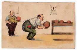 SPORTS BOWLING KEGEL CLUB WSBS Nr. 642 OLD POSTCARD 1930. - Bowling