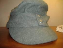 Casquette Allemande Feldmütze Feldgrau Taille 57 Tbe - 1939-45