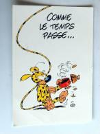 Carte Postale Ancienne : MARSUPILAMI : Comme Le Temps Passe.... - Stripverhalen