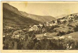 04- VILLARS-COLMARS . Vue Générale. - France