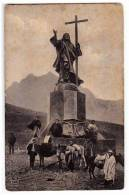 AMERICA CHILE THE STATUE OF THE CHRIST ON THE ANDES OLD POSTCARD - Chile