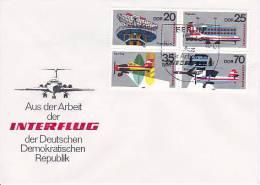 DDR FDC 1980 Mi.-Nr. 2516-2519 Zusammendruck - DDR