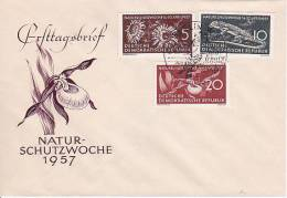DDR FDC 1957 Mi.-Nr. 561-563 - FDC: Brieven