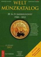 Schön Welt-Münzkatalog 2013 Neu 50€ Münzen 20/21.Jahrhundert A-Z Coins Of The World Europa Amerika Afrika Asien Oceanien - Monnaies