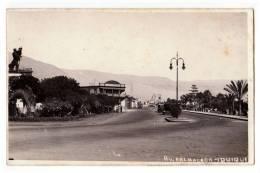 AMERICA CHILE IQUIQUE BALMACEDA AVENUE OLD POSTCARD 1939. - Chile