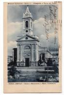 AMERICA CHILE PUNTA ARENAS CHURCH AND MONUMENT TO MARIA AUSILIATRICE OLD POSTCARD - Chile