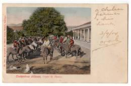 AMERICA CHILE COSTUMBREAS CHILEANAS, HUASOS GROUP EDIT CARLOS BRANDT Nr. 305 OLD POSTCARD 1904. - Chile