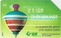 *ITALIA: SE TI GIRA DI INCURIOSIRE* - Scheda Usata (variante 327b) - Fouten & Varianten