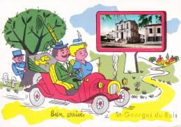 CPA - CPM - 17 - Saint Georges Du Bois - France