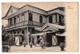AMERICA CHILE VALPARAISO HOTEL MIRAMAR C. KIRSINGER & CIA Nr. 64836 OLD POSTCARD - Chile