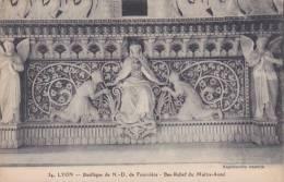 France Lyon Basilique de Notre Dame Bas-Relief du Maitre-Autel