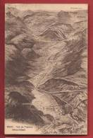 C0069 Val De Travers, Panorama,Noiraigue,Môtie Rs,Buttes,St-Sulpice.Non Circulé. Petit Collage Au Dos.Phototypie 6527 - NE Neuchâtel