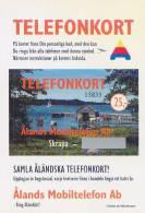 Aland - Prepay 25 Mk, Boat-House, 1996, 5000ex, Mint