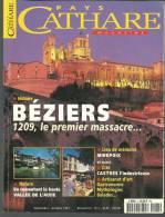 PAYS CATHARE MAGAZINE N°5  Haute Vallée De L'Aude / Beziers / Castres / Mirepoix / - Languedoc-Roussillon