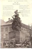 Territoire De Belfort- Statue Quand Même (Oeuvre De Mercié)- Prière D´Alsace ( Alsaciens) D´Edmond Brault - Belfort - Stadt