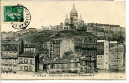 75018 PARIS  - Panorama De La Butte Montmartre - Pub Vin Michaud, Apéritif Au Quinquina - Arrondissement: 18